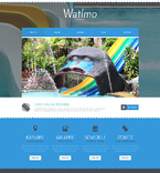 Entertainment Website  Template 48772