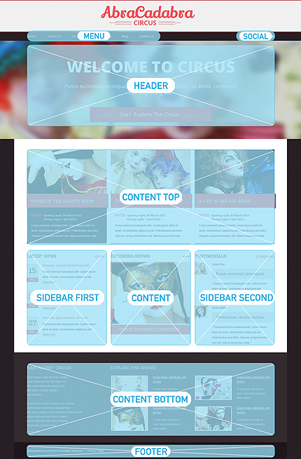 Drupal Template 48777 Main Page Screenshot