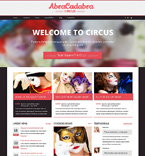 Entertainment Drupal  Template 48777