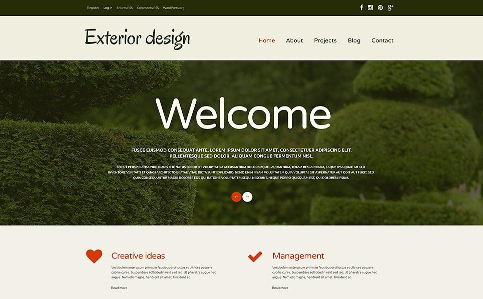 Reszponzív Kerttervezés  WordPress sablon New Screenshots BIG