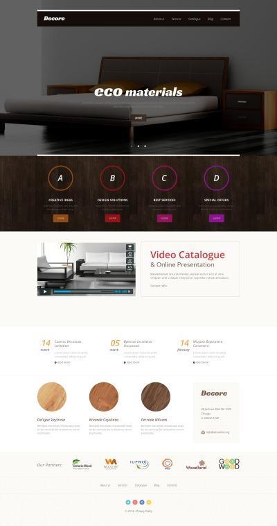 Inredningsdesign Responsivt WordPress-tema