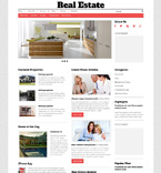 Real Estate WordPress Template 48783