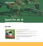 Sport WordPress Template 48788