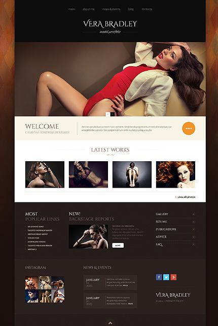 WordPress Theme/Template 48789 Main Page Screenshot