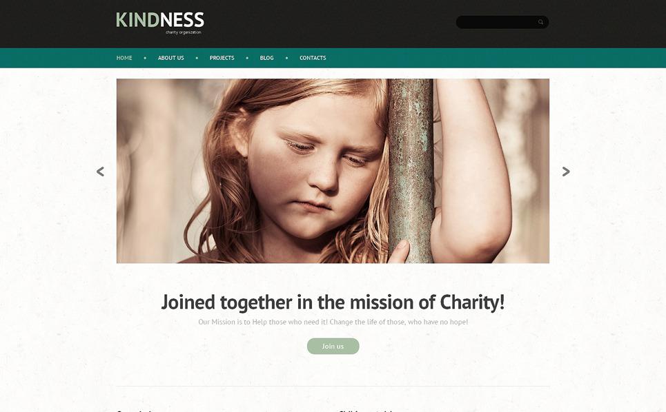 WordPress Theme für Kindercharity  New Screenshots BIG