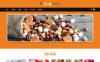 Адаптивний Joomla шаблон на тему магазин солодощів New Screenshots BIG