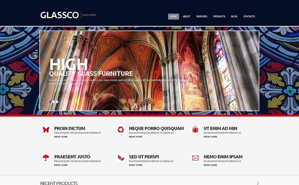 Адаптивний WordPress шаблон на тему вікно New Screenshots BIG