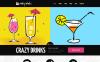 Адаптивный Joomla шаблон №48762 на тему напитки и еда New Screenshots BIG