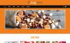 Адаптивный Joomla шаблон №48764 на тему магазин сладостей New Screenshots BIG