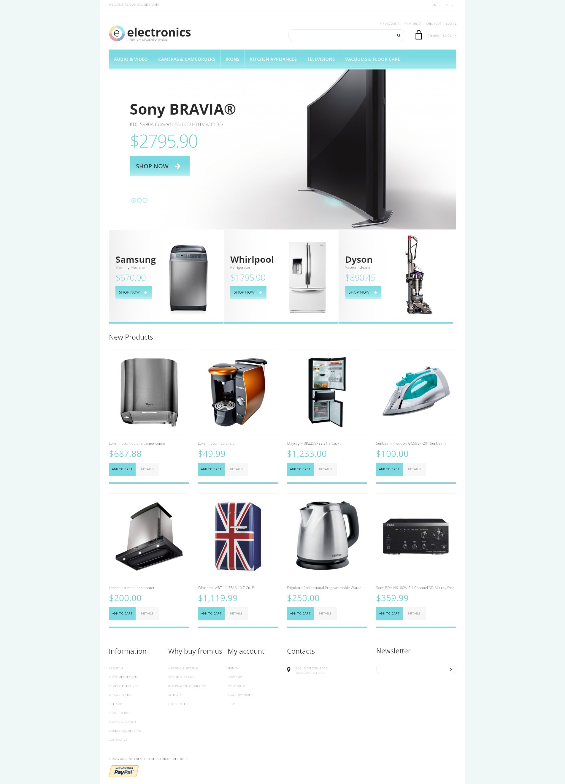 Air Conditioning Responsive Magento Theme