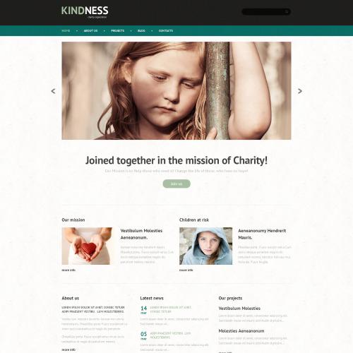 Kindness - WordPress Charity Organization Template