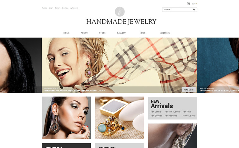 Handmade Jewelry WooCommerce Theme