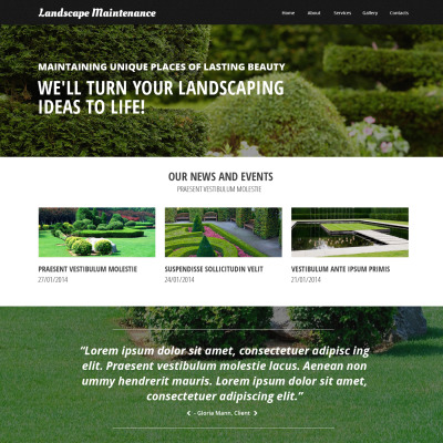- 19+ Best Landscape Design Website Templates