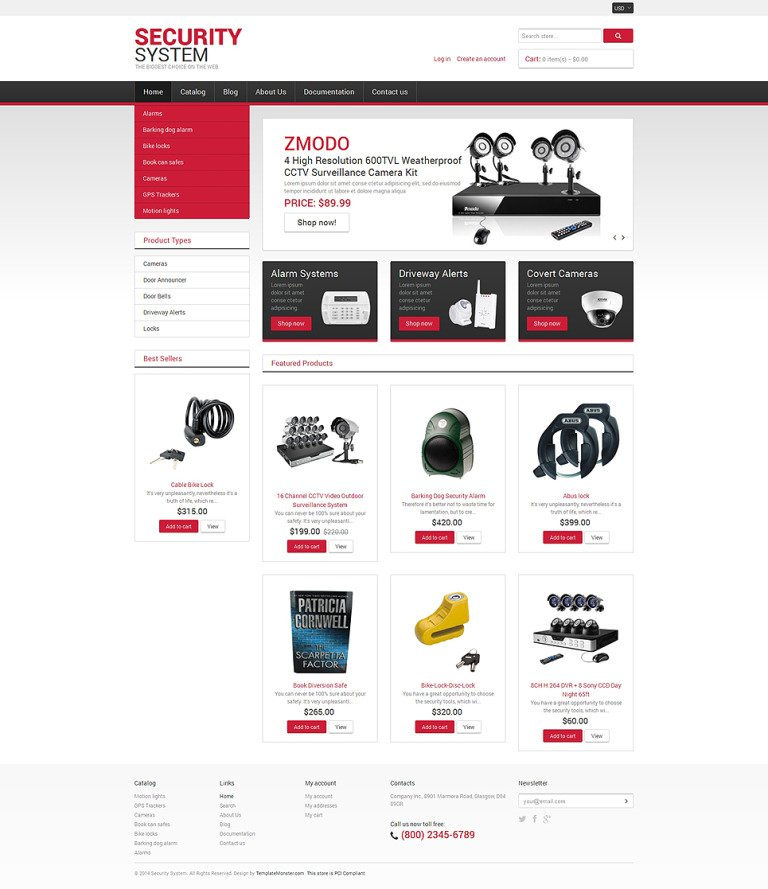Locksmith Responsive Shopify Theme New Screenshots BIG