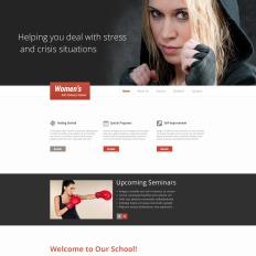 Martial Arts Responsive Website
