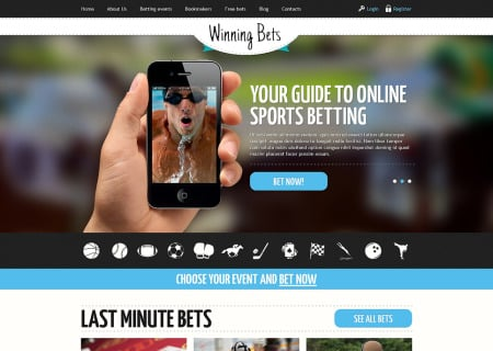Online Betting Responsive