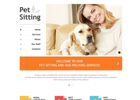 Pet Sitting Responsive