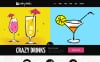 Responsive Joomla Template over Eten en dranken New Screenshots BIG