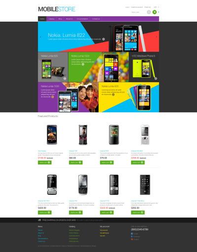Responsives Shopify Theme für Handyladen