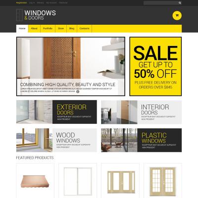 Responsives WooCommerce Theme für Fenster