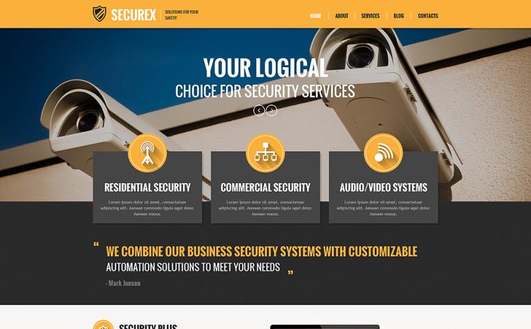 Tema de WordPress #48782 para Sitio de Cerrajeros