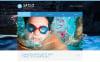 Template Web Flexível para Sites de Natação №48740 New Screenshots BIG