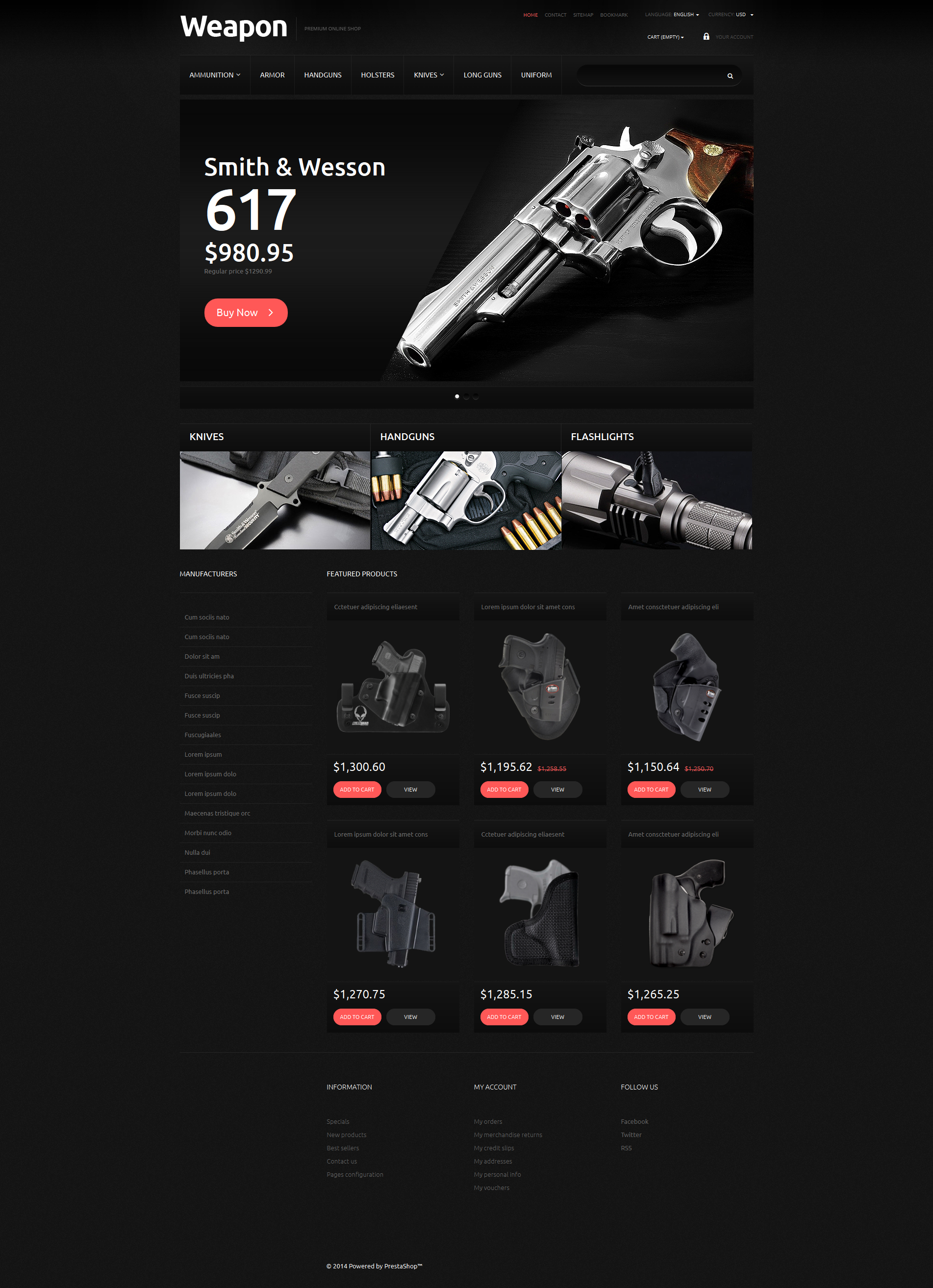 php based websites templates