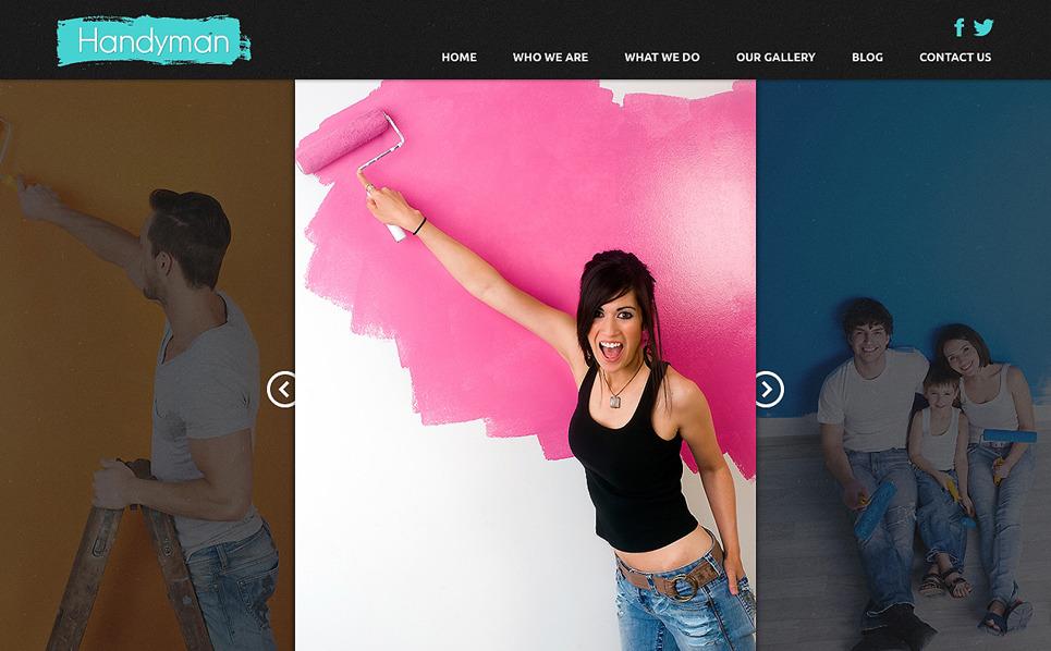 Адаптивний Joomla шаблон на тему домашній ремонт New Screenshots BIG