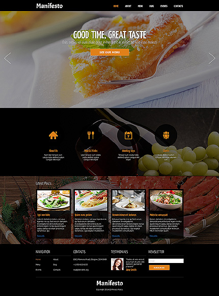 Joomla Theme/Template 48802 Main Page Screenshot