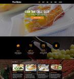 Cafe & Restaurant Joomla  Template 48802