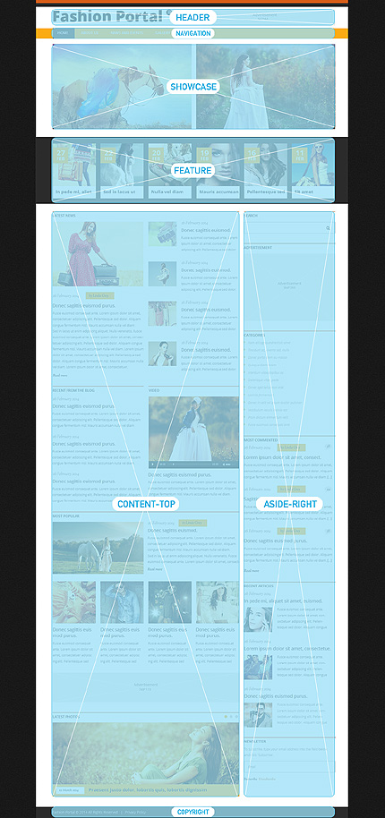 Joomla Theme/Template 48804 Main Page Screenshot