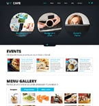 Cafe & Restaurant Joomla  Template 48805