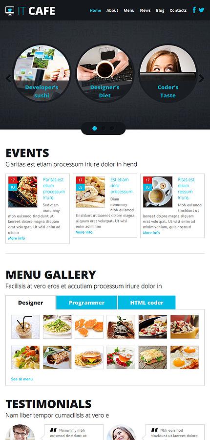 Joomla Theme/Template 48805 Main Page Screenshot