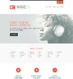 Media Website  Template 48806