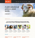 Agriculture Website  Template 48809