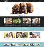 Animals & Pets Website  Template 48812