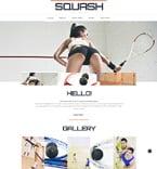 Sport Website  Template 48814