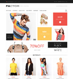 Fashion Magento Template 48821