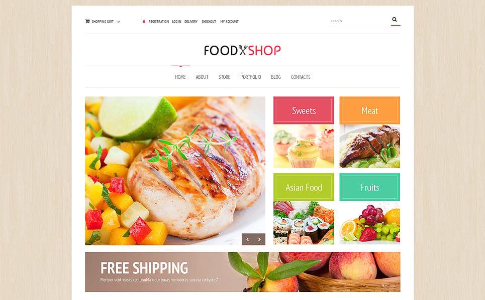 Responsywny motyw WooCommerce #48824 na temat: sklep z żywnością New Screenshots BIG