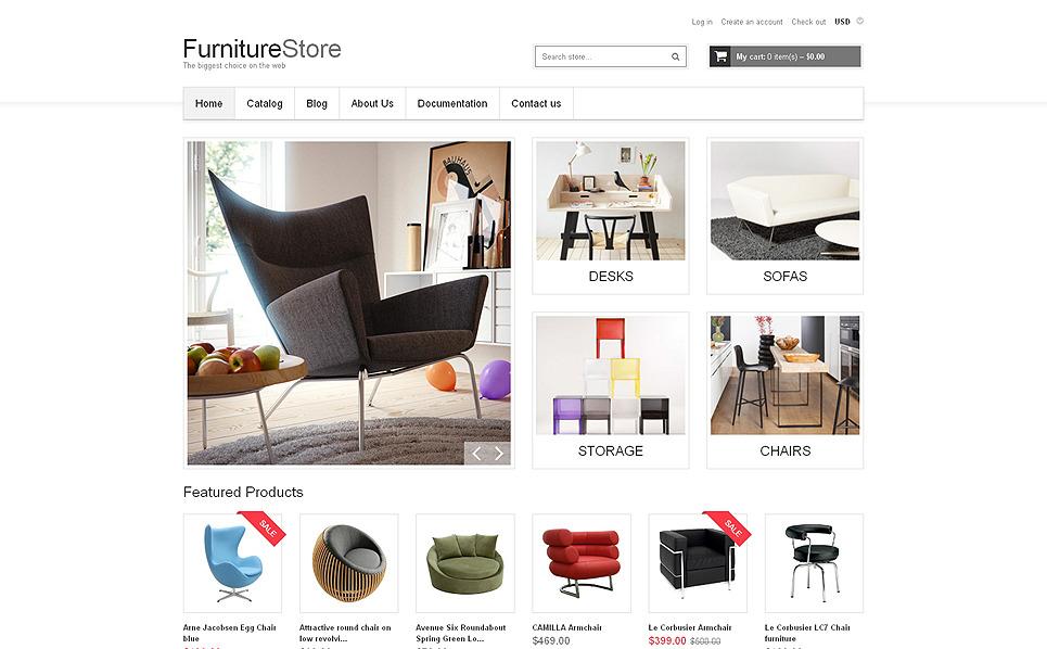 Responsives Shopify Theme für Möbel  New Screenshots BIG