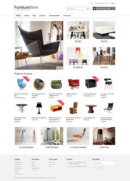 ADOBE Photoshop Template 48825 Home Page Screenshot