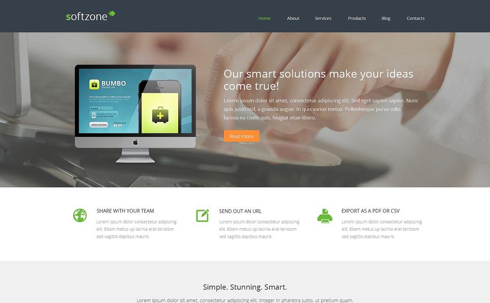 Reszponzív Webfejlesztés WordPress sablon New Screenshots BIG