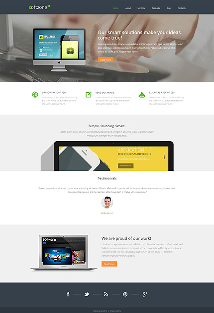 WordPress Theme/Template 48831 Main Page Screenshot