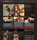 Cafe & Restaurant WordPress Template 48832