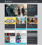 Entertainment WordPress Template 48833