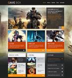Games WordPress Template 48834