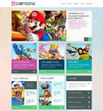 Entertainment WordPress Template 48835