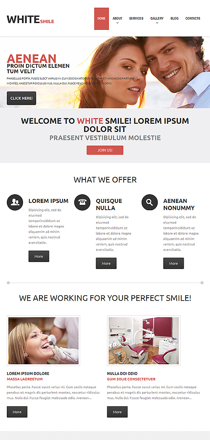 WordPress Theme/Template 48837 Main Page Screenshot
