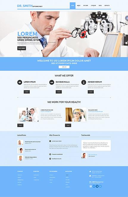 WordPress Theme/Template 48838 Main Page Screenshot