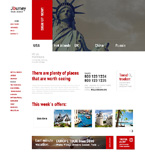 Travel WordPress Template 48842